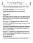 Athenaeum Program 2007-2008