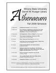 Athenaeum Program 2008-2009
