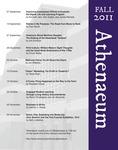 Athenaeum Program 2011-2012