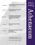 Athenaeum Program 2013-2014