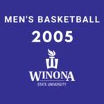 Winona State University vs. University of Minnesota-Duluth Men's Basketball Game 2005 by Winona State University