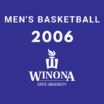 Winona State University vs. Concordia University St. Paul Men's Basketball Game 2006 by Winona State University