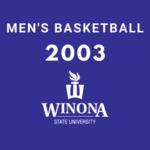 Winona State University vs. Mankato State University Men's Basketball Game 2003 by Winona State University