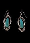Navajo Earrings, turquoise