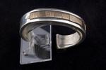 Navajo Men's Bracelet, 14k gold over sterling silver