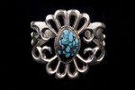 Navajo Cast Bracelet, turquoise