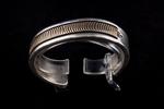 Navajo Men's Bracelet, sterling silver and 14k gold