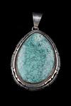 Navajo Pendant, turquoise