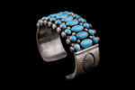 Navajo Bracelet, turquoise