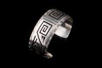 Hopi Overlay Bracelet with water symbols