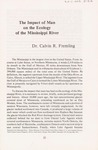 The Impact of Man on the Ecology of the Mississippi River by Cal R. Fremling
