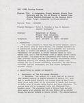 1991 LCMR funding proposal