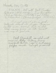 Marsh and dredging plan notes by Cal R. Fremling