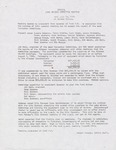 Lake Winona Committee meeting minutes, 1982-1996