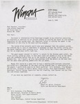 Lake Winona correspondence, 1991-1995 by Cal R. Fremling
