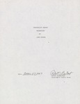 Dredging feasibility report, 1987 by Cal R. Fremling
