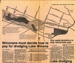 Lake Winona dredging by Cal R. Fremling
