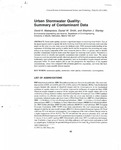 Urban Stormwater Quality: summary of contaminant data by Cal R. Fremling