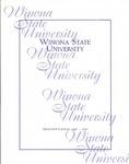 Graduate Catalog 1998-2000 by Winona State University