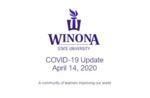 COVID-19 Update: April 14, 2020 by Kelsey Breer