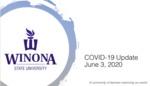 COVID-19 Update: June 3, 2020