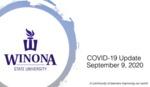 COVID-19 Update: September 9, 2020