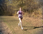 WSU Warrior Women's Cross Country Action Photograph 1999 by Winona State University