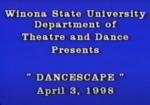 Dancescape 1998 by Winona State University