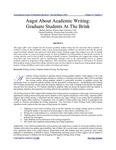 Angst About Academic Writing: Graduate Students at the Brink