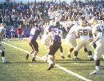 WSU Warrior Football Action Photograph 1999 - Homecoming by Winona State University