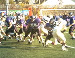 WSU Warrior Football Action Photograph 1999 - Homecoming by Winona State University