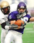 WSU Warrior Football Action Photograph 2003 by Winona State University