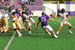 Warrior Football Action Photograph 2007 by Winona State University and Andrew Nyhus