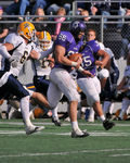 WSU Warrior Football Action Photograph 2008 by Winona State University and Andrew Nyhus