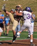 WSU Warrior Football Action Photograph 201 by Andrew Nyhus and Winona State University