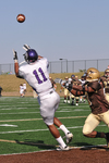 WSU Warrior Football Action Photograph 202 by Andrew Nyhus and Winona State University