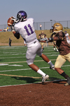 WSU Warrior Football Action Photograph 203 by Andrew Nyhus and Winona State University