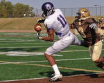 WSU Warrior Football Action Photograph 204 by Andrew Nyhus and Winona State University