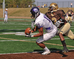 WSU Warrior Football Action Photograph 205 by Andrew Nyhus and Winona State University