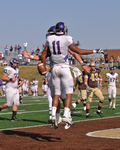 WSU Warrior Football Action Photograph 206 by Andrew Nyhus and Winona State University