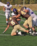 WSU Warrior Football Action Photograph 208 by Andrew Nyhus and Winona State University