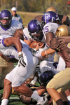 WSU Warrior Football Action Photograph 209 by Andrew Nyhus and Winona State University