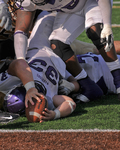 WSU Warrior Football Action Photograph 210 by Andrew Nyhus and Winona State University
