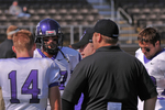 WSU Warrior Football Action Photograph 215 by Andrew Nyhus and Winona State University