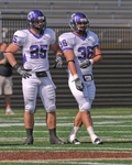 WSU Warrior Football Action Photograph 217 by Andrew Nyhus and Winona State University