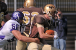 WSU Warrior Football Action Photograph 218 by Andrew Nyhus and Winona State University