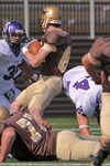 WSU Warrior Football Action Photograph 219 by Andrew Nyhus and Winona State University