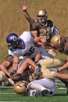 WSU Warrior Football Action Photograph 220 by Andrew Nyhus and Winona State University