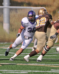 WSU Warrior Football Action Photograph 221 by Andrew Nyhus and Winona State University