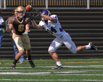 WSU Warrior Football Action Photograph 222 by Andrew Nyhus and Winona State University